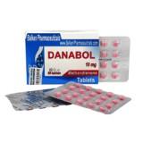 Danabol (methandienone)10mg, 100tab.